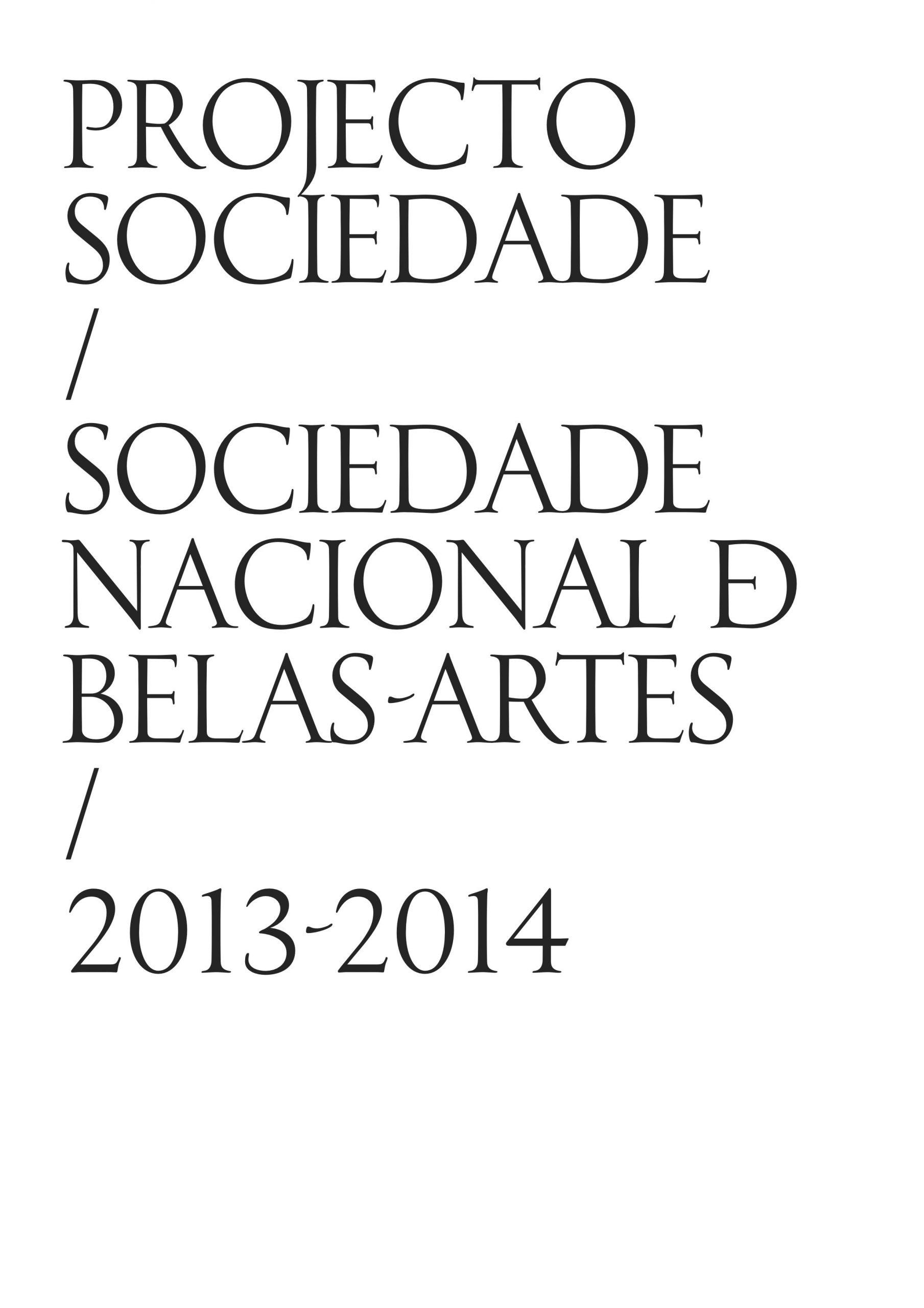 Projecto Sociedade